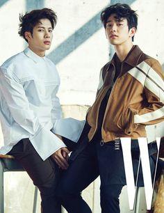Jackson and Jinyoung