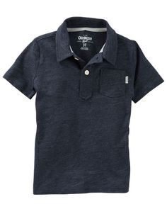 Baby Boy Jersey Polo from OshKosh B'gosh. Shop clothing & accessories from a trusted name in kids, toddlers, and baby clothes.