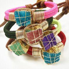 Bracelets By Vila Veloni Multicolor Alternative
