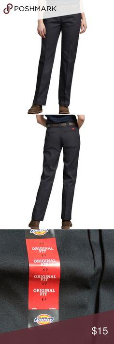 923c130f Women's Original 774® Work Pants, Black Reg $22 Womens 6 Petite Black Sits  slightly