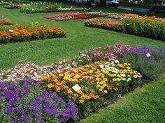 Gardens in Prescott Park, Portsmouth, New Hampshire