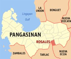 Map of Pangasinan showing the location of Rosales Old Maps, Cartography, Philippines, Island, History, Travel, Historia, Viajes, Antique Maps