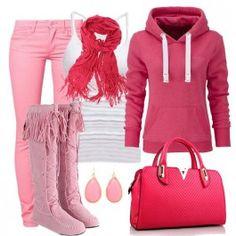 Pink Tassels Flat Boots $23.19