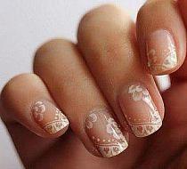 23 Besten Hochzeit Nageldesign Bilder Auf Pinterest Bride Nails
