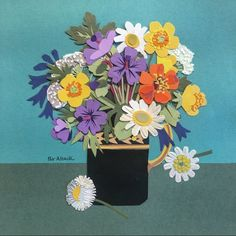 """JamJar Flowers (@jamjar_flowers) """"... the marvellous Pat Albeck has left us. Here is one of her joyous and perfectly…"""""""