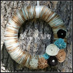 Wonderous Wreath {The Yarn Wreath}, starting at $20.