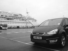 A rainy day, down at the Cruise Terminal at the Port of Dover