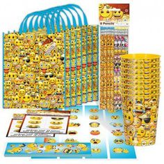 Emoji Party Supplies DecorationsBirthday