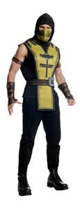 The Mortal Kombat Scorpion Mens Costume is the best 2019 Halloween costume for you to get! Everyone will love this Mens costume that you picked up from Wholesale Halloween Costumes!