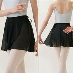 New Chiffon Wrap Scarf Skirt Ballet Leotard Tutu Skirt Dance Skate Costume Dress Ballet Tutu, Ballet Dancers, Dance Outfits, Dance Dresses, Ballet Wrap Skirt, Robes Tutu, Ballet Clothes, Ballet Fashion, Dance Leotards