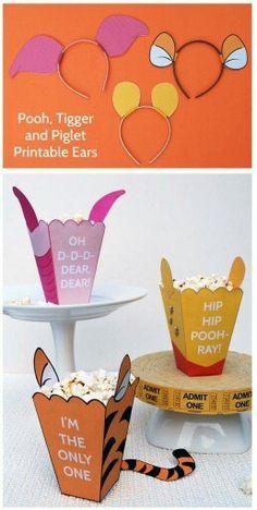 Accesorios temáticos para una fiesta de Winnie the Pooh