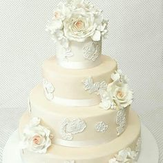 Wedding cake retrò chic