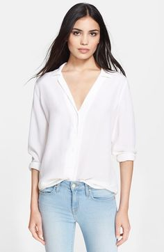 Equipment 'Adalyn' Silk Blouse available at #Nordstrom