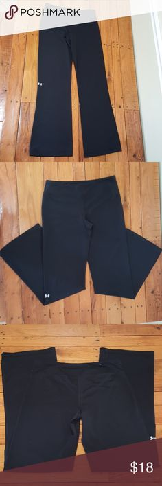 Under Armour Womens Black Yoga Pants Sz M Under Armour Womens Black Yoga Pants Size Medium. In Excellent Preowned Condition. You are currently shopping in Ann's Design Closet! To save Big Time, bundle two or more items together from my closet and I will personally send you a discount on the price and the shipping!  If you have any questions please comment on the item you're currently viewing and I will respond momentarily!  Thank you and Happy Shopping! Under Armour Pants Track Pants…