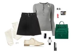"""""""Green"""" by dmiddleton ❤ liked on Polyvore featuring Ralph Lauren Blue Label, Acne Studios, Alexander Wang, Marni, Simply Vera, Montblanc, Balenciaga and Chanel"""