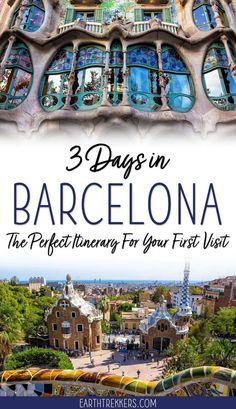 3 day Barcelona Itinerary and Travel Guide: best things to do, money saving tips, how to skip the lines, where to eat and where to stay. #barcelona #spain #travelitinerary #barcelonaitinerary
