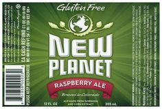 New Planet Gluten Free Raspberry Ale