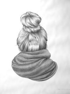 great idea for drawing class - sit in a big circle and draw the back of the head…
