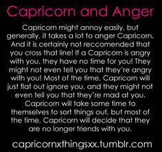 And Moo bear cannot be ignored, it makes him feel rejected. Therefor, I have to learn to communicate my anger instead of ignoring. It is hard. Capricorn Season, Capricorn And Taurus, Capricorn Quotes, Zodiac Signs Capricorn, Zodiac Sign Traits, Zodiac Star Signs, Zodiac Facts, Astrology Signs, My Zodiac Sign