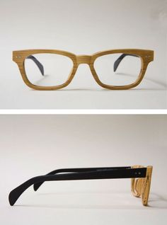Wooden glasses < WANT WANT WANT!