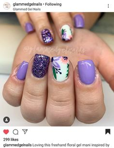 Spring nail designs - - Spring nail designs The Effective Pictures We Offer You About spring nails teal A quality picture - Nail Design Spring, Spring Nail Art, Spring Nails, Summer Nails, Nail Designs For Summer, Shellac Nails, Toe Nails, Nail Nail, Fancy Nails