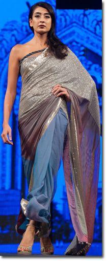 Manish Malhotra Sarees Lakme Fashion Week