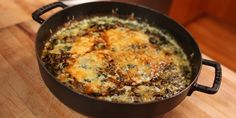 Anything Gratin: Spinach Gratin : Recipes : Cooking Channel Vegetable Side Dishes, Vegetable Recipes, Spinach Gratin, Gratin Dish, Food Network Canada, Supper Recipes, Thanksgiving Recipes, Casserole Recipes, Food Network Recipes