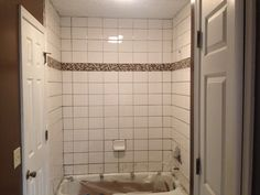 Retiling a Shower Shower Repair, Tiling, Kitchen And Bath, Bathroom Ideas, Remodeling, Building A House, Bathtub, Decorations, Car