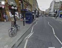 If you click on the link, you can go on Google maps and look inside the TARDIS! It's really cool! :)