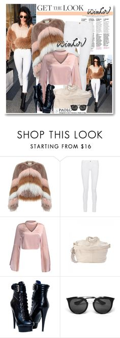"""""""Get the Look: Winter Style and PaoloShoes"""" by paoloshoes ❤ liked on Polyvore featuring Urbancode, Frame, WithChic and Prada"""