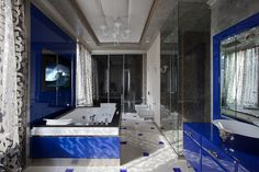Contemporary flat by OLstudio