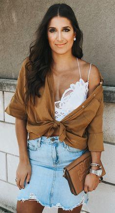 #winter #outfits short-sleeved shirt