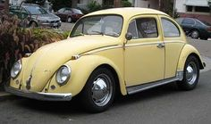 My very first car!! 1972 Super Beetle!!