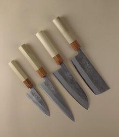 Japanese Kitchen Knives by Tadafusa