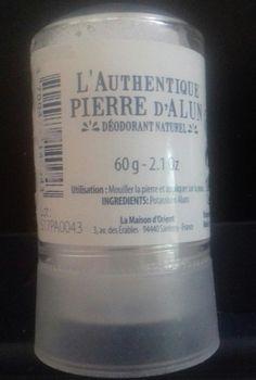 Deodorant Alum Crystal + pp Deodorant, Newport Isle Of Wight, Alum Crystals, Drink Bottles, Water Bottle, Water Bottles