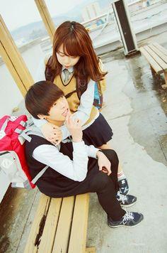 #Ulzzang #Couple #couples #cute #love #ulzzang ♥