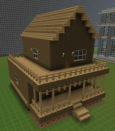 Small Log Cabin Minecraft House If Someone Want To Master Woodworking  Techniques, Look At Http