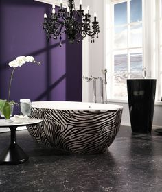Bathtub Made In Compolight Shown In Cow Leather Skirting. Also Available In  Others Leathers.