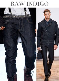 Denim Trends Fall/Winter by Trend Council High Fashion Outfits, Denim Fashion, Casual Outfits, Casual Clothes, 2015 Color Trends, 2014 Trends, Trend Council, Mens Trends, Japanese Denim