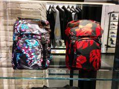 Prada #backpack #SpringSummer #floral #print #FolliFollie #collection