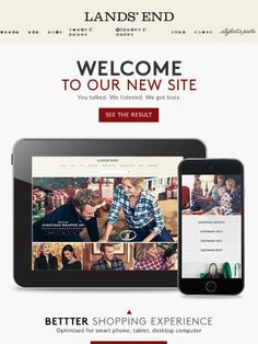 Like our new website  We hope so - you inspired it! - Lands End 925d528ff41