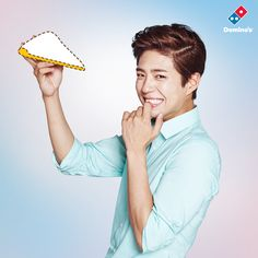 park bogum and song joongki for dominos