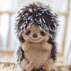 "Dolls and handmade toys.  Fair Masters - handmade.  Buy Pattern + detailed MK ""Hedgehog"".  Handmade.  variegated"