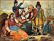 Black-eyed Sue and Sweet Poll of Plymouth taking leave of their lovers who are going to Botany Bay - Penal transportation - Wikipedia, the free encyclopedia