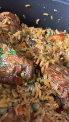 Quick Healthy Meals, Healthy Cooking, Easy Meals, Healthy Eating, Healthy Recipes, Haitian Food Recipes, Asian Recipes, Barbacoa Recipe, Jambalaya Recipe
