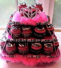 zebra cupcakes.<3