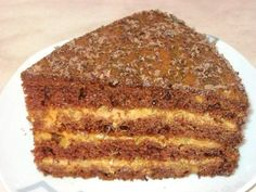 Торт «Улыбка негра» Russian Pastries, Russian Cakes, Russian Dishes, Russian Desserts, Russian Recipes, Baking Recipes, Cake Recipes, Sour Cream Sauce, Seafood Dishes