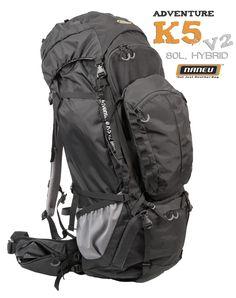 Naneu Adventure K5 v2 80L hybrid outdoor camera bag perfect for multiple days photography trip. #naneu #tripod #outdoor #outdoorphotography