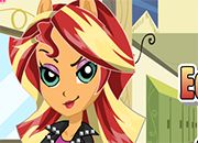 Equestria Girls Sunset Shimmer | Juegos Equestria Girls - Rainbow Rocks