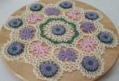 Crochet Thread Artists Doilies by Handcrafted Knitting and Crochet on Etsy